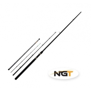 NGT Prut Feeder Pro - 10ft/2pc - Carbon Color