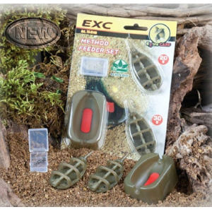 Extra Carp Method Feeder Set 20,30g + formička