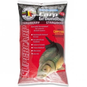 MVDE Carp Groundbait Strawberry 1kg