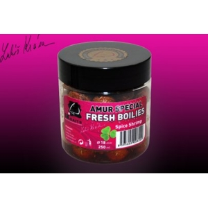 LK Baits FRESH BOILIES Amur special Spice Shrimp 18mm 250ml