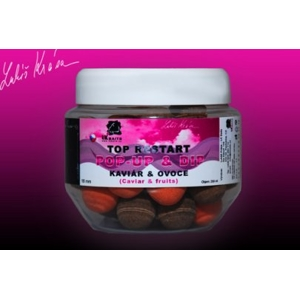 LK Baits Pop-up Top ReStart Caviar/Fruits 18mm 150ml +dip
