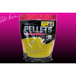 LK Baits Fluoro Pellets Pineapple/N-Butyric 1kg/2 mm