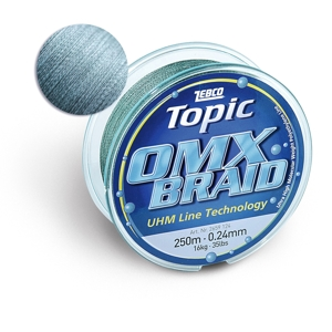 Zebco Topic OMX Braid 250m/0,16mm/7,5 kg