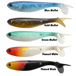 Black Cat Mullet Shad-15 cm/2 ks