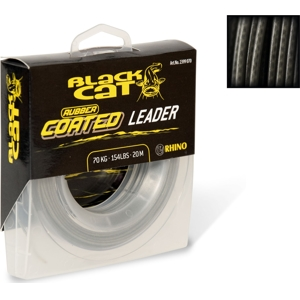 Black Cat Rubber Coated Leader 20 m