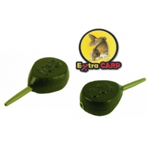 Extra Carp Lead IN-LINE FLAT PEAR-100 g