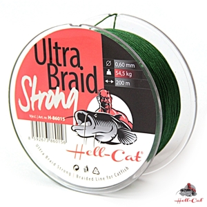 Hell Cat Ultra Braid Strong 0,48mm, 36,4kg, 250m