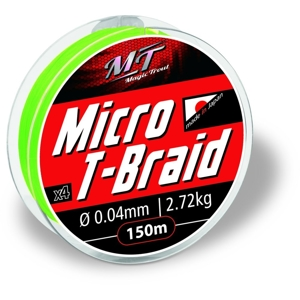 Magic Trout Micro T-Braid 150m 3,63kg/0,05mm-zelená