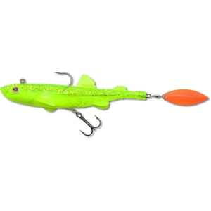 Quantum Rubber Duck Shad chartreuse fluo 21 cm/60g
