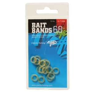 Giants fishing Silikonové kroužky Bait Bands-15ks